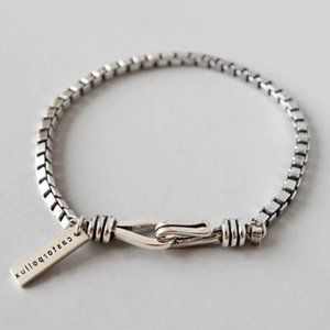 *NEW 925 Sterling Silver Vintage Chain Bracelet